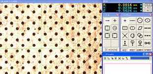 微細孔加工のイメージ