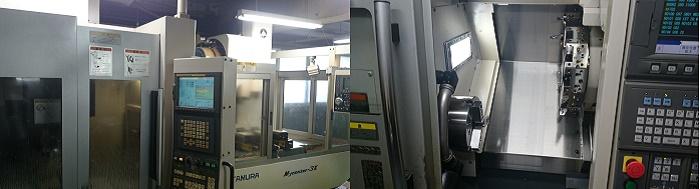 機械加工の大日精機。東京都大田区の工場です。
